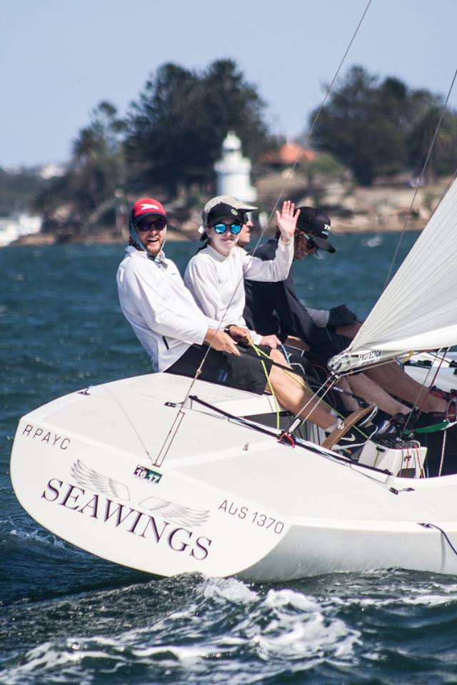 RPAYC Youth Team on Seawings - Credit Andrea Fancolini