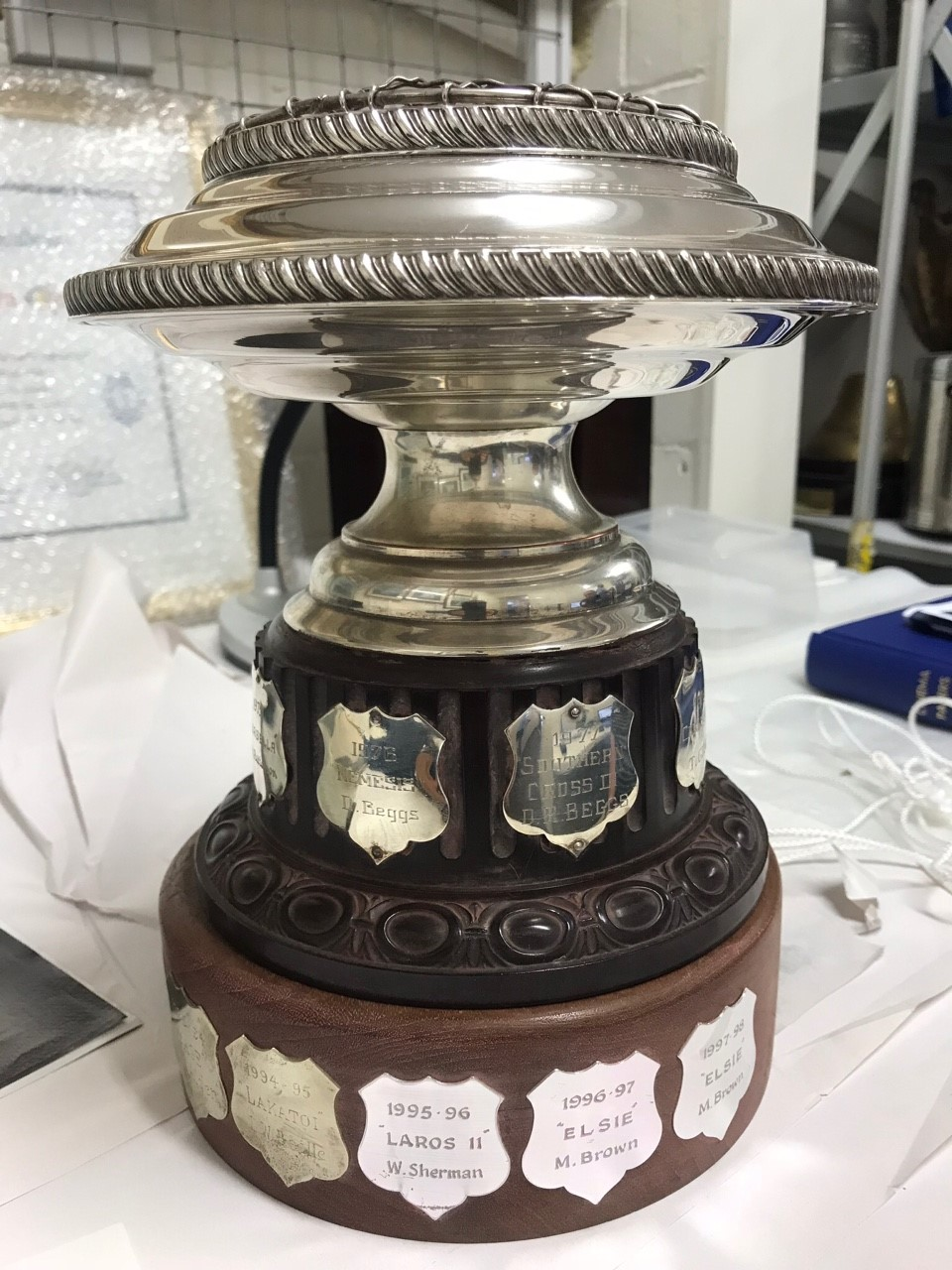 The Fred Craig Juno Trophy.