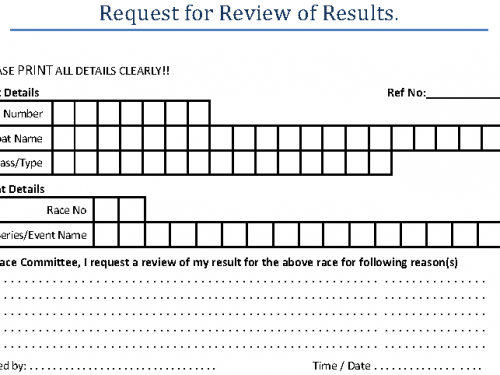 Request For Review Of Results